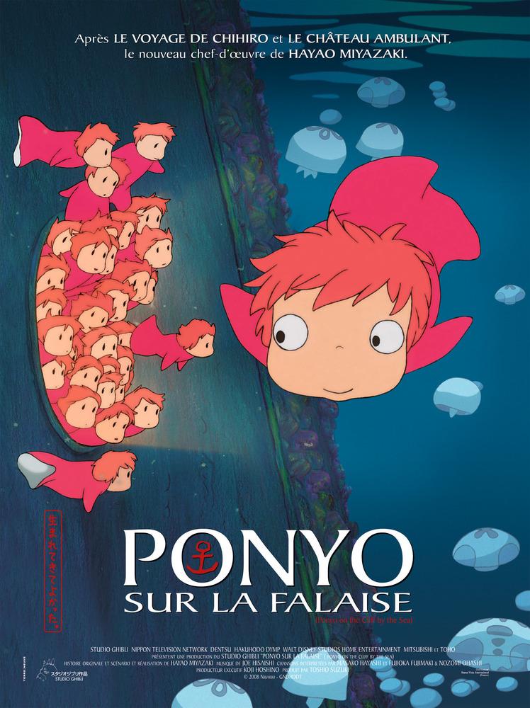 نتیجه تصویری برای دانلود فیلم Ponyo 2008 (Gake no ue no Ponyo)
